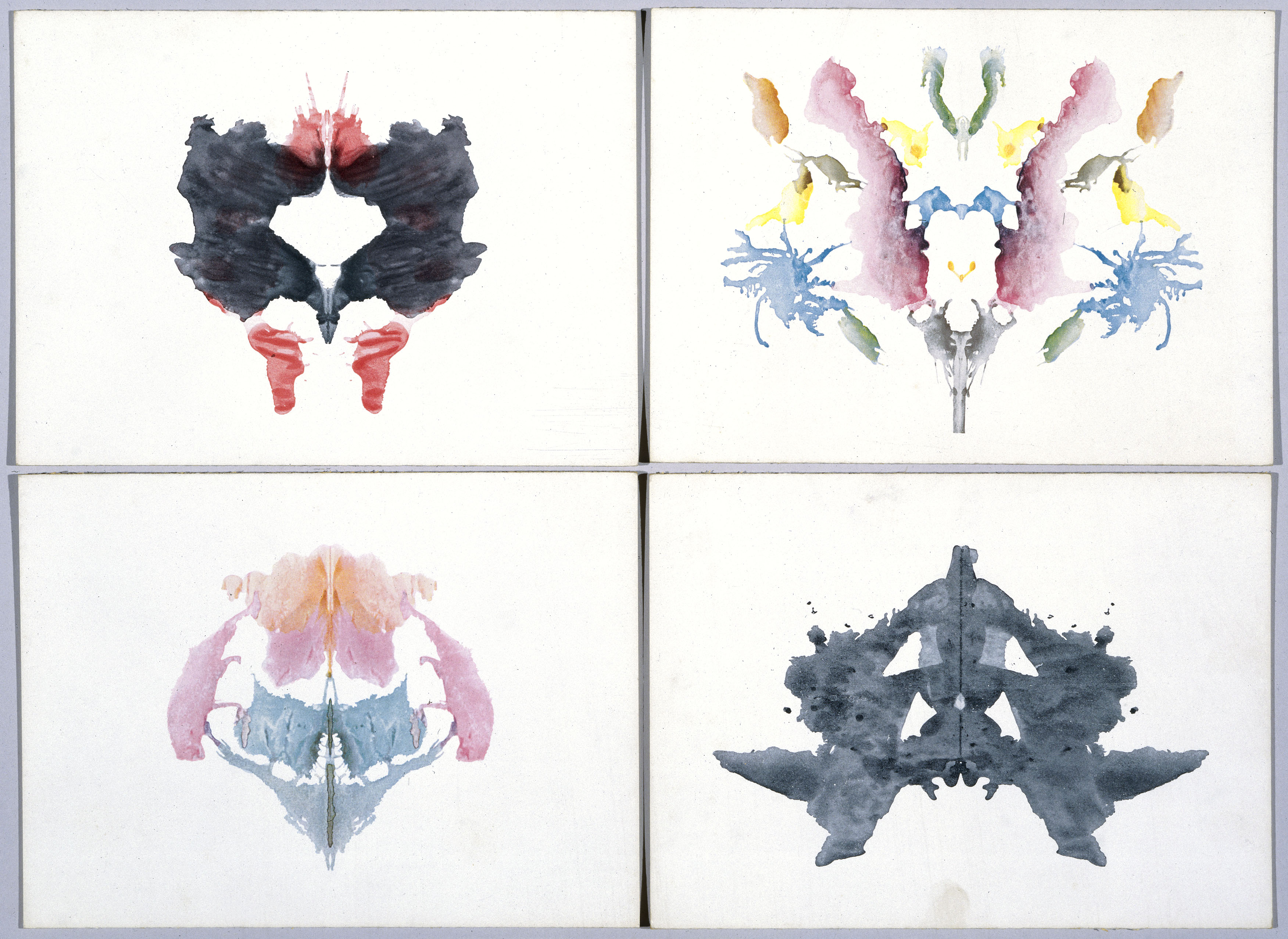 The history and the wisdom of Hermann Rorschach's ink blots