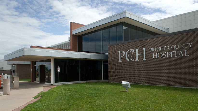 Prince County Hospital exterior. (Brian L. Simpson/Government of PEI)