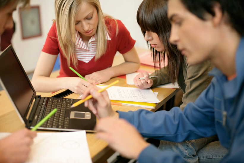 Encouraging students to work together creates ethical complications (Photograph by Getty Images)