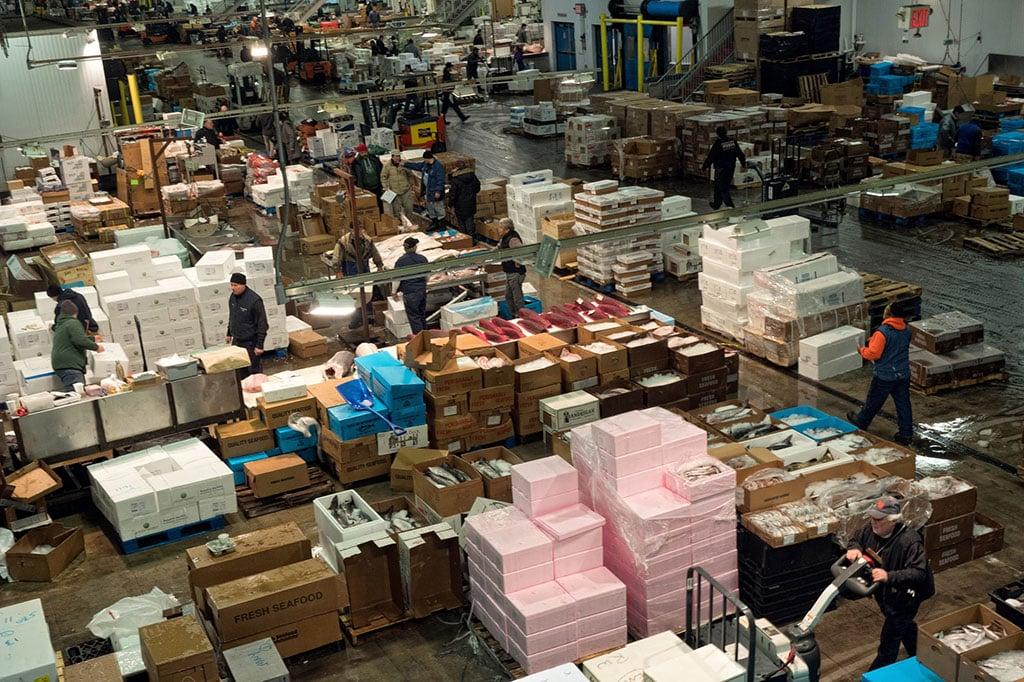 Inside New York's biggest fish market