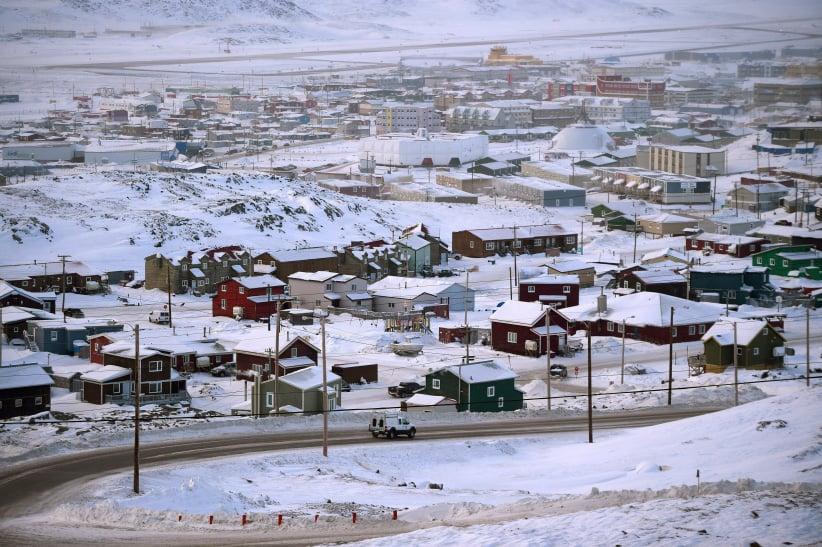 Iqaluit, Nunavut on Thursday, Feb. 9, 2017. (Sean Kilpatrick/CP)