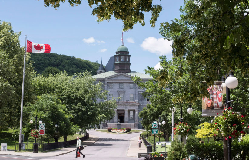 McGill University campus is seen Tuesday, June 21, 2016 in Montreal. The author of a controversial article about Quebec that appeared in Maclean's magazine this week has stepped down from his post at McGill University.Andrew Potter said in a social media post Thursday his resignation as director of the Institute for the Study of Canada was effective immediately. (Paul Chiasson/CP)