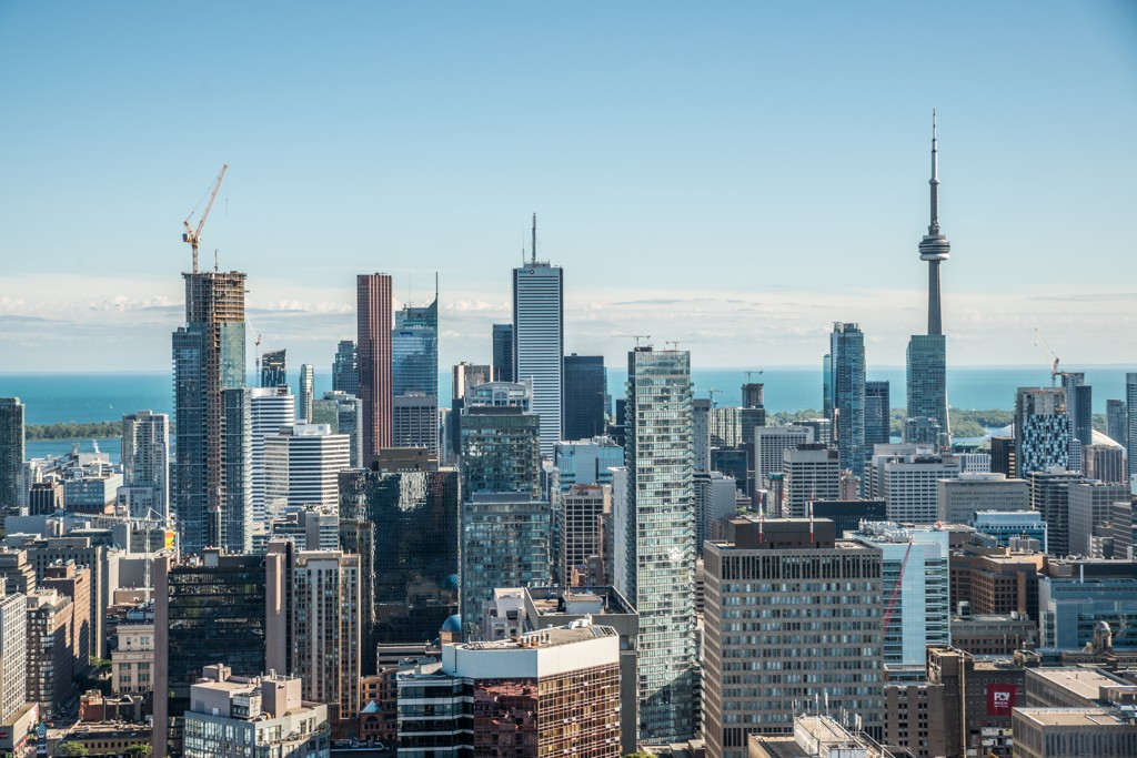 A view of the downtown area of Toronto, Ontario. (IVY PHOTOS/Shutterstock)