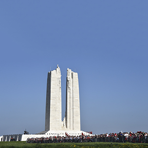 The cultural meaning of the Vimy memorial