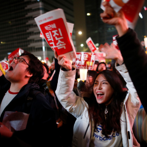 In South Korea, the young rise up against a president—and a society