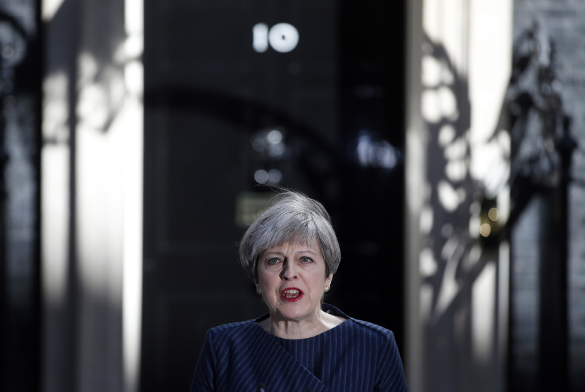 British Parliament backs Theresa May's plan for June 8 snap election