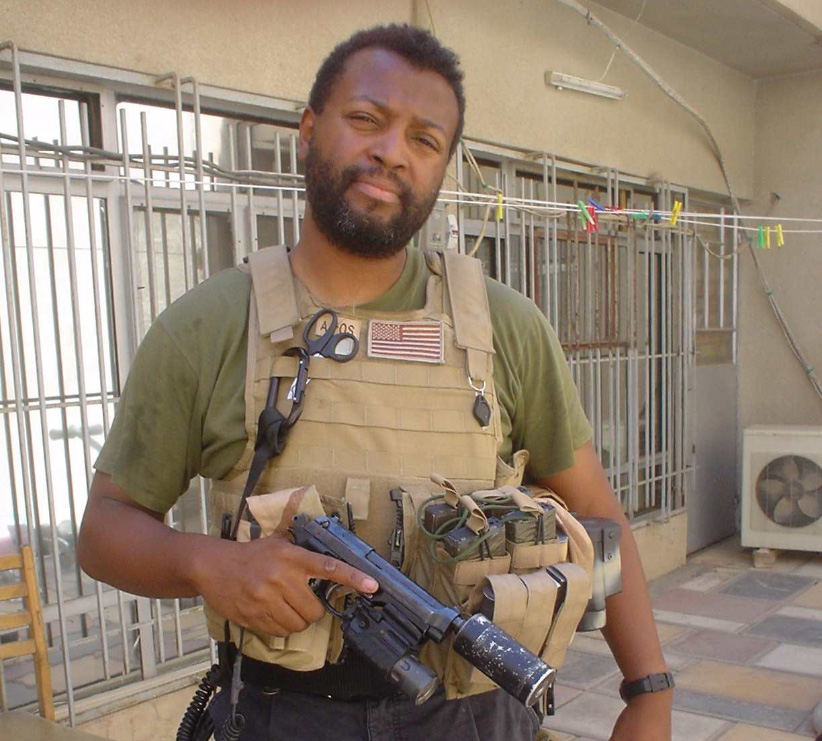 Malcolm Nance on active duty.