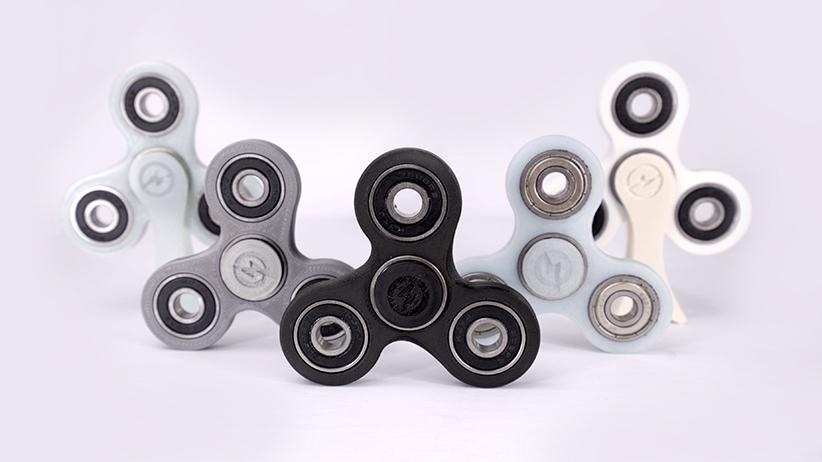 Fidget spinners. (Revo Toys)