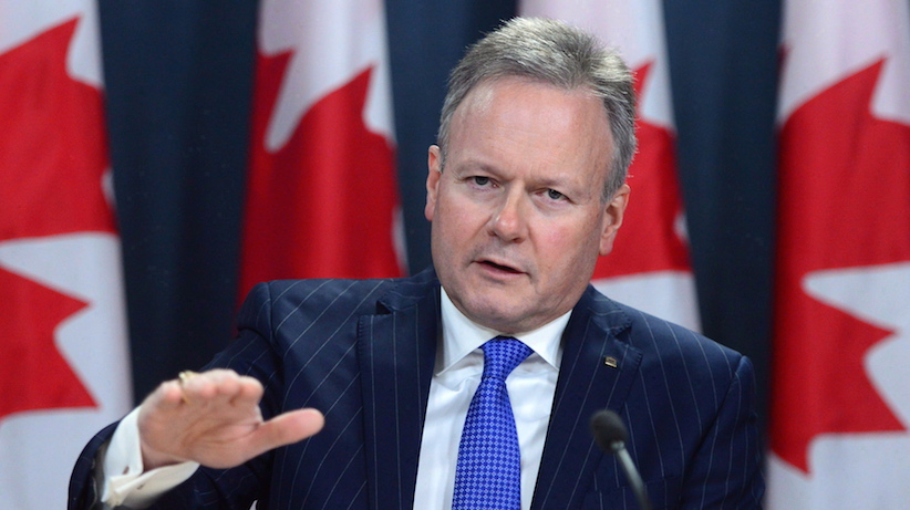 Bank of Canada governor Stephen Poloz holds a news conference at the National Press Theatre in Ottawa on Dec. 15, 2016. Bank of Canada governor Stephen Poloz used a history lesson Tuesday to make a case for a policy mix frequently promoted by the federal government -- an openness to more foreign investment, immigration and free trade. In a prepared speech, Poloz said Canada has seen these ingredients produce positive economic results in its past, including the freer-market colonial times, the early 1900s and the post-Second World War era. THE CANADIAN PRESS/Sean Kilpatrick