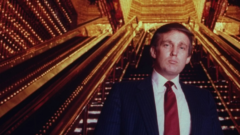 Real estate tycoon Donald Trump poised in Trump Tower atrium in 1989 in New York. (Ted Thai/The LIFE Picture Collection/Getty Images)
