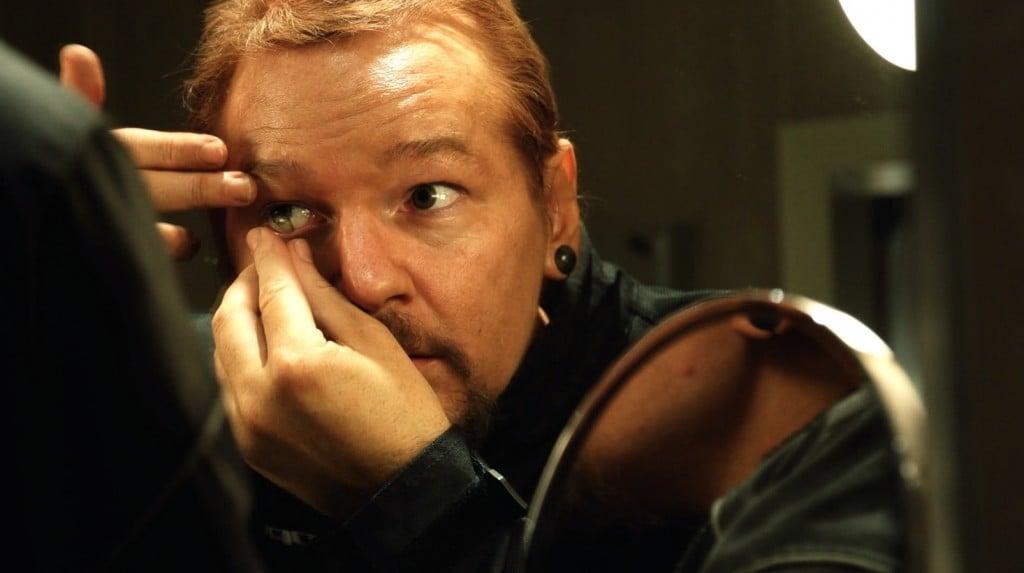 Julian Assange in 'Risk,' courtesy of Praxis Films