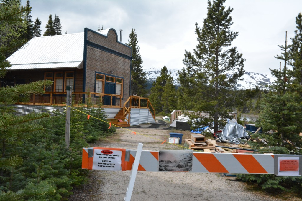 The Arctic Hotel, a restaurant and hotel owned by Friederich Trump in Bennett, B.C. in 1898, is being reconstructed by Parks Canada in collaboration with the Carcross Tagish First Nation.