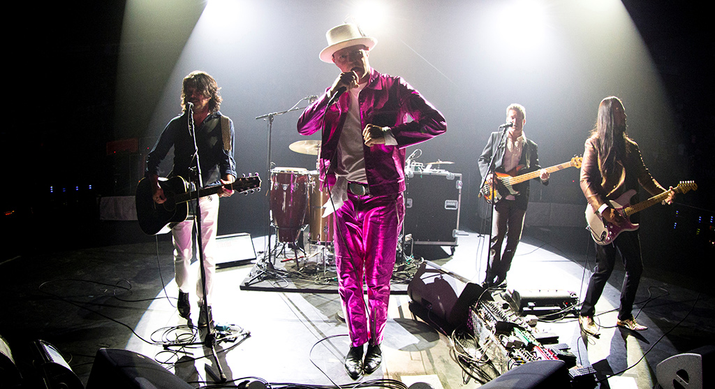 The Tragically Hip performing in 2016