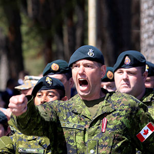 Canada's mission to scare off Russia