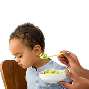 Toddler refusing to eat vegetables