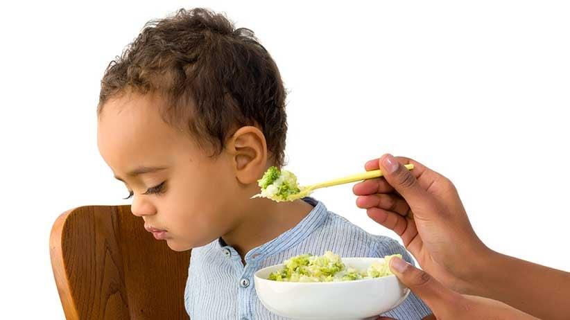 Toddler refusing to eat vegetables