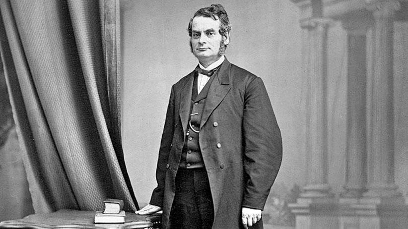 Samuel Leonard Tilley circa 1860. (Bibliothèque et Archives nationales du Québec/Wikimedia)