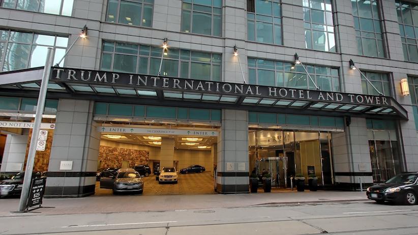 Trump International Hotel, Toronto. Image via Google Street View.