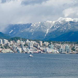 View of the North Vancouver BC , Canada. (Romakoma/Shutterstock)