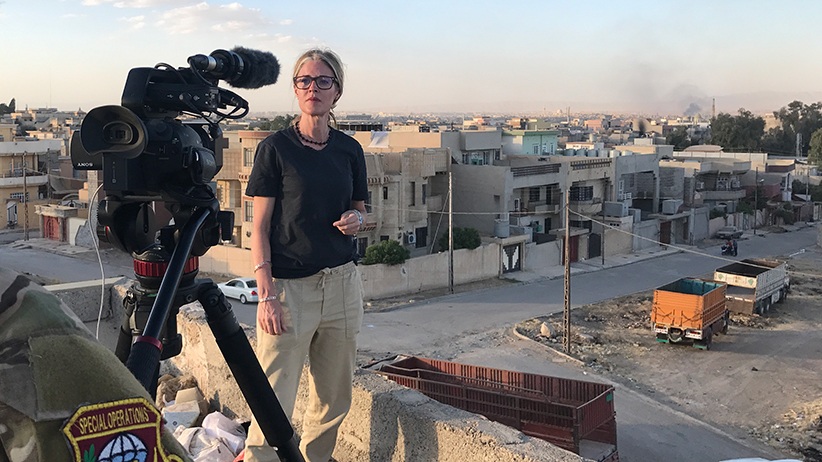 Avery Haines in Mosul (Avery Haines)