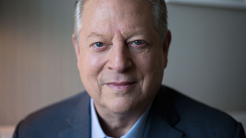 Al Gore poses for a portrait while promoting his new film, An Inconvenient Sequel, in Toronto on Friday, July 21, 2017. (Photograph by Mikaela MacKenzie)
