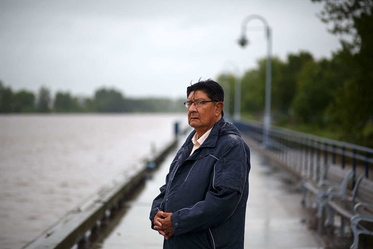 Rainy River First Nations Chief Jim Leonard