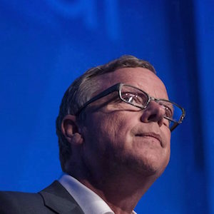 Saskatchewan Premier Brad Wall speaks during a grand opening ceremony for the K+S Potash mine in Bethune, Sask. on Tuesday, May 2, 2017. Wall says he is retiring from politics after a decade as premier of Saskatchewan. THE CANADIAN PRESS/Liam Richards