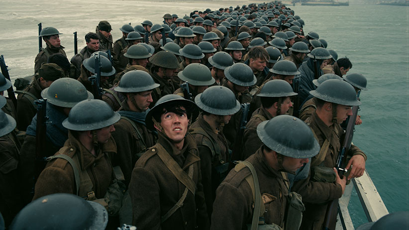 "A scene from the Warner Bros. Pictures action thriller ""DUNKIRK."" (Warner Bros.)"