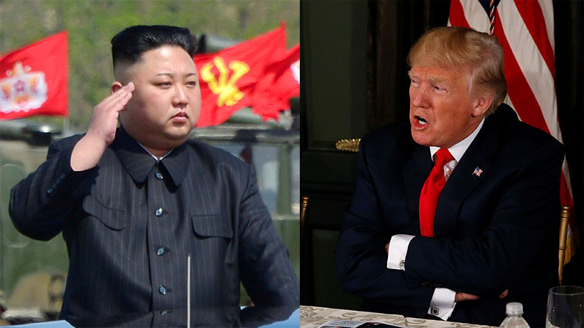Kim and Trump (Reuters)