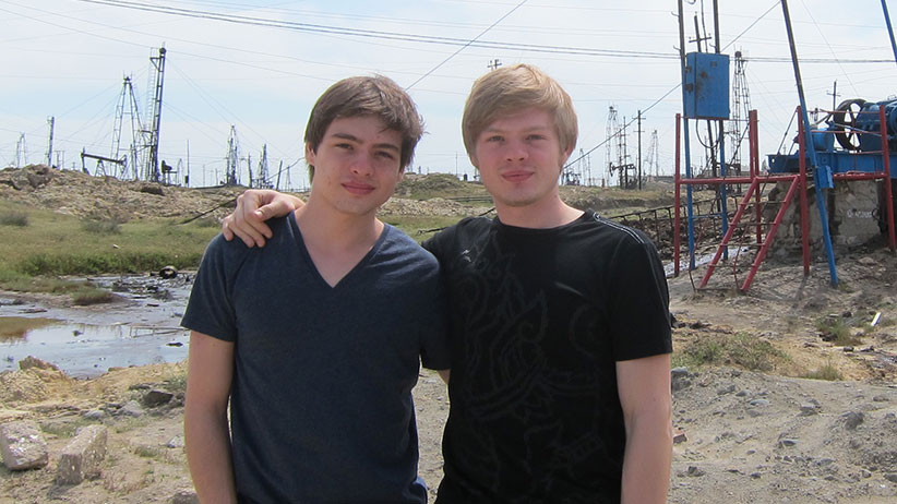 Tim and Alex Vavilov.