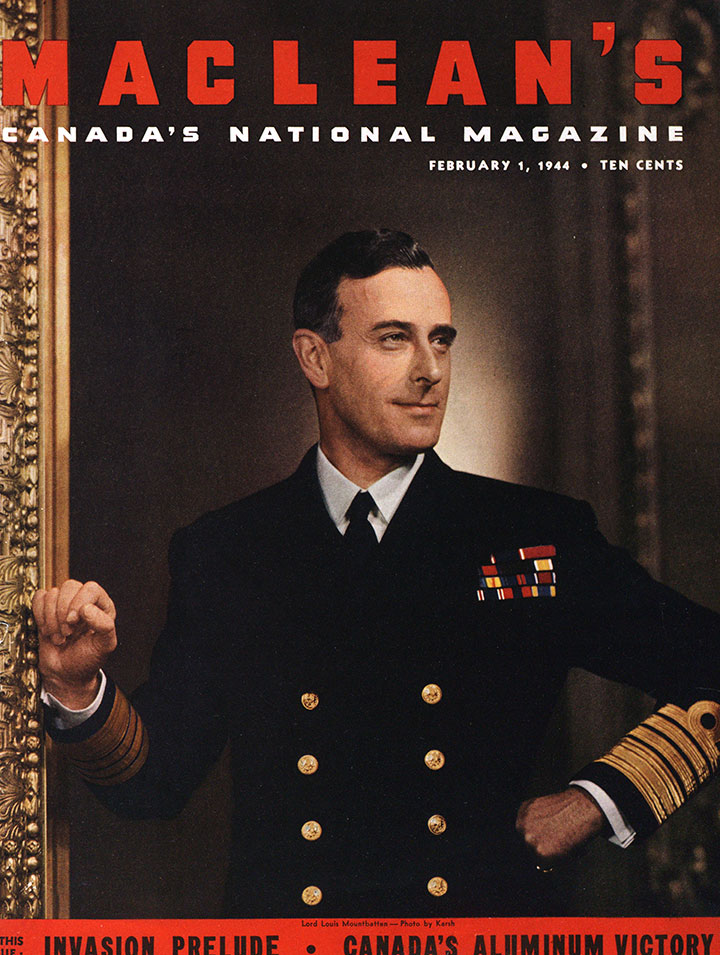 Lord Mountbatten Maclean's cover