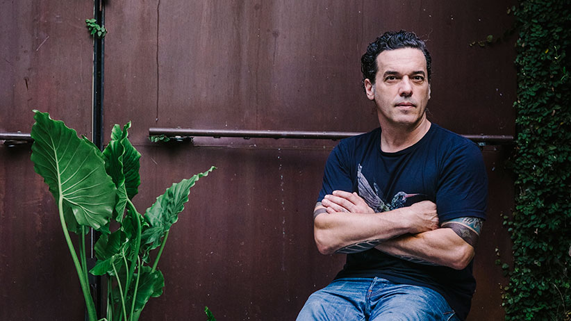 Joseph Boyden (Photograph by Jacob C Boynton)