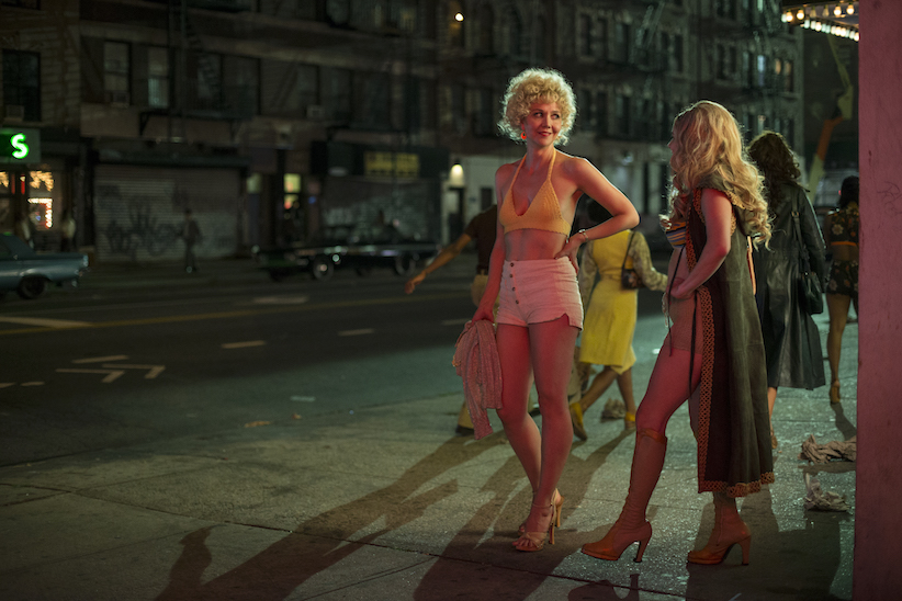 Maggie Gyllenhaal as Candy in a season 1 episode of The Deuce.