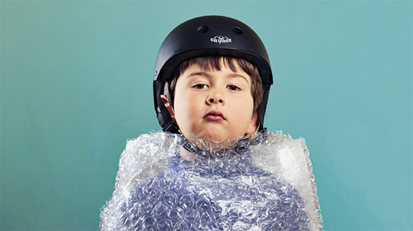 BUBBLE BOY FOR COVER