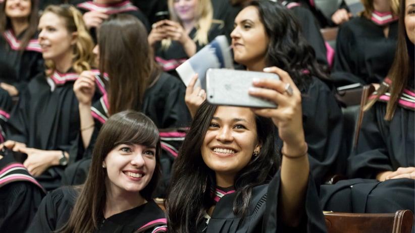 Master of Global Affairs convocation at University of Toronto. (Lisa Sakulensky/University of Toronto)
