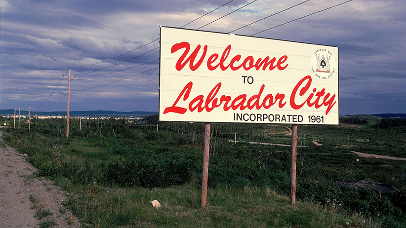 The mining town of Labrador City. (Jean-Erick Pasquier/Gamma-Rapho/Getty Images)