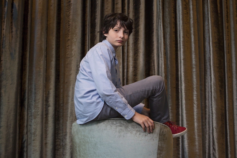 """Vancouver actor Finn Wolfhard, star of the Netflix series """"Stranger Things"""" is photographed in Toronto on Tuesday, July 17, 2016. (Chris Young/CP)"""