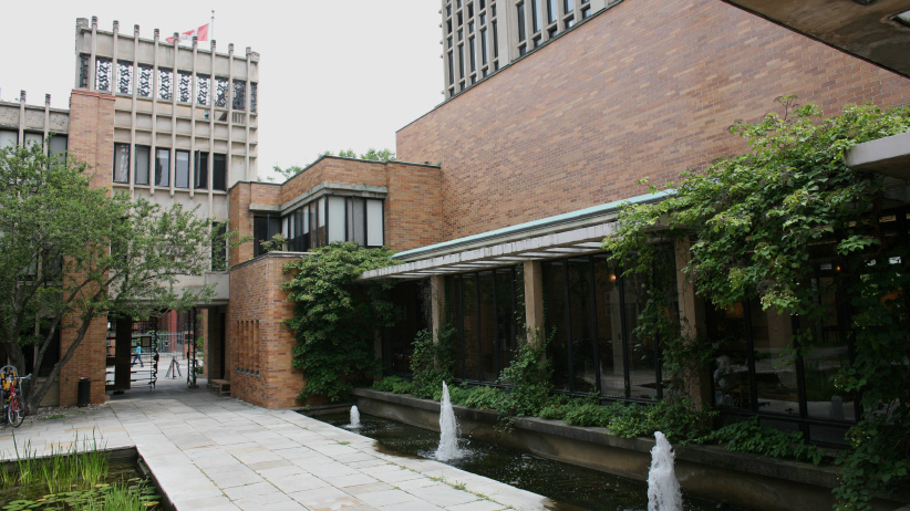 Massey College. (University of Toronto)