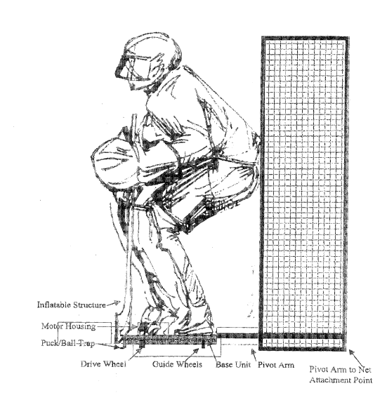 La Goalie (Source: Canadian Patents Database)