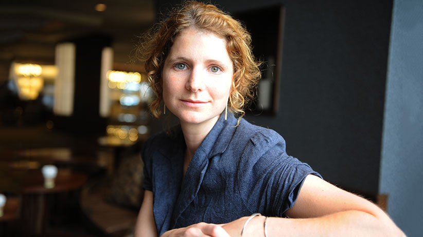 Author Johanna Skibsrud. (Colin McConnell/Toronto Star/Getty Images)