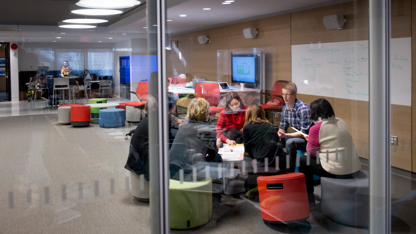 New Learning hub in Education at Simon Fraser University. (Dale Northey/SFU)