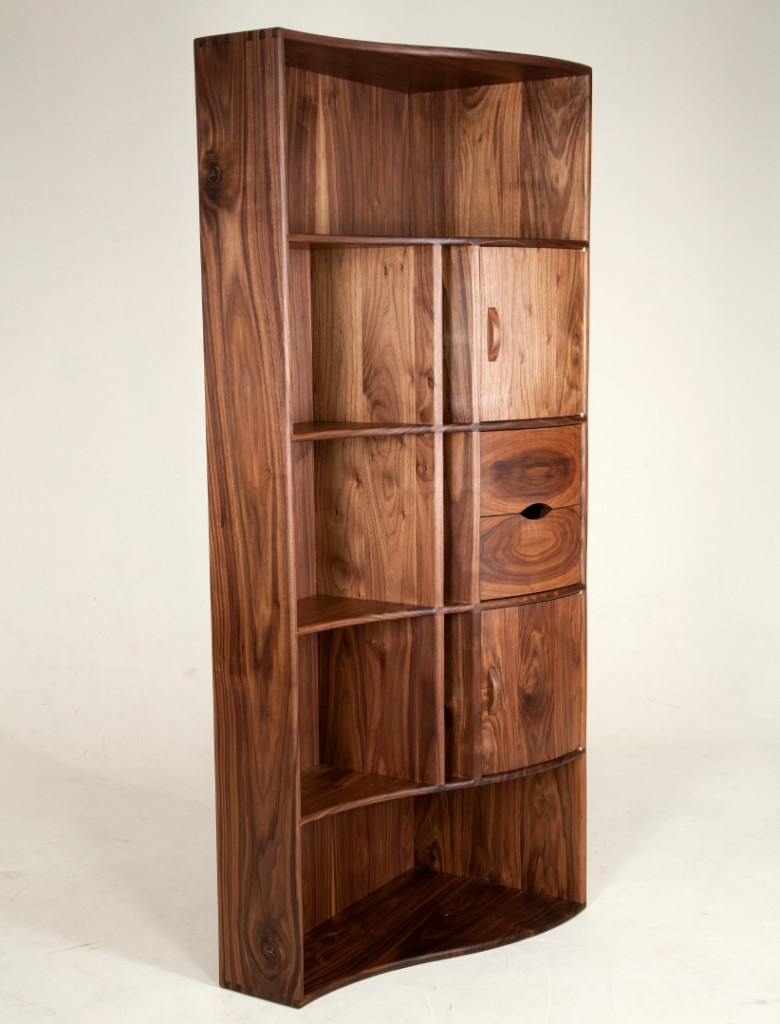 Cabinet made by Selkirk College Fine Woodworking Program student, Nick Mazerolle. (Justin Davis)