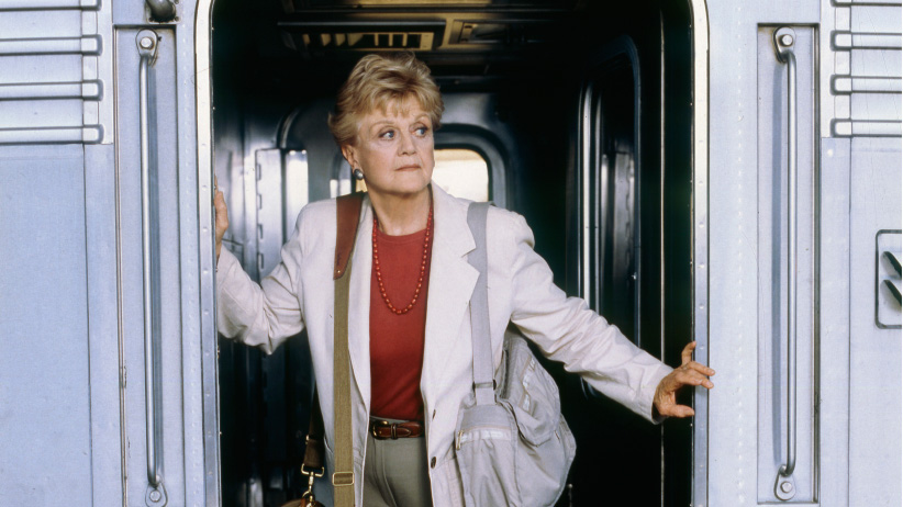 Angela Lansbury as Jessica Fletcher in Murder She Wrote. (Randy Marcus/NBC/Getty Images)