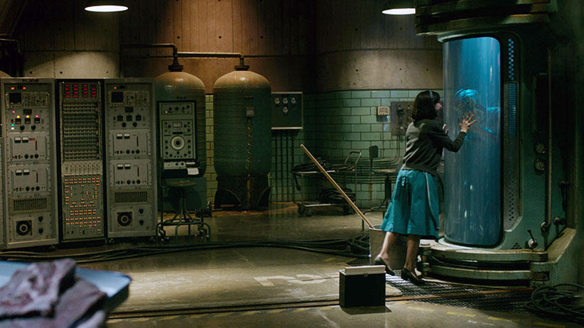 Sally Hawkins and Doug Jones in 'The Shape of Water.' (Fox Searchlight Pictures/Everett Collection)