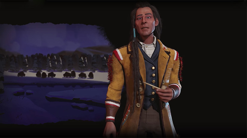 Chief Poundmaker in Civilization