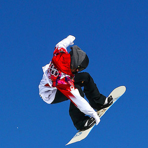 Canadian Olympic snowboarder Spencer O'Brien