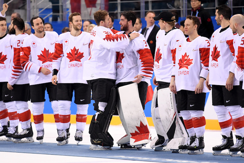 pyeongchang 2018 canada s olympic men s hockey team prevails for