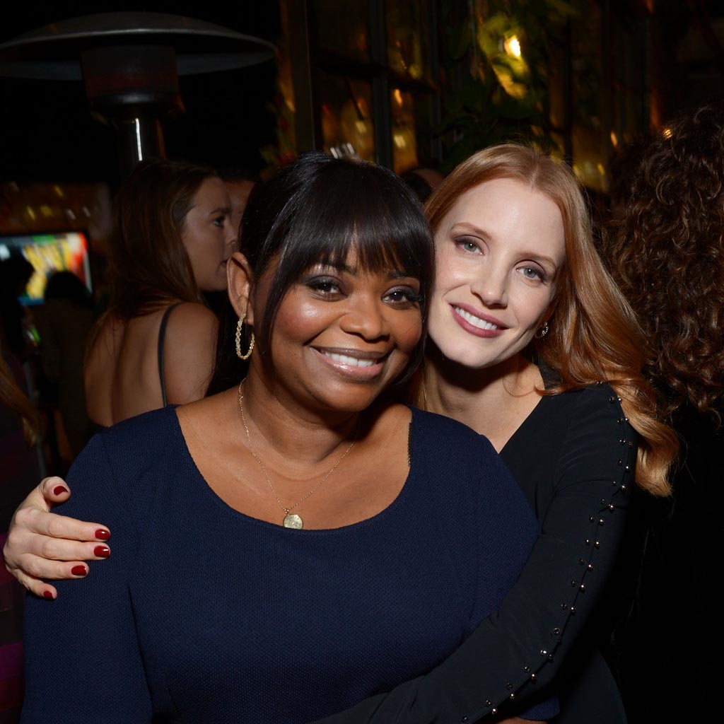"""<p><strong>Jessica Chastain and Octavia Spencer</strong></p> <p>It all started when Jessica Chastain and Octavia Spencer, who starred together in The Help and remain close friends, were catching up on the phone and the conversation turned to pay equity between men and women. Spencer pointed out to Chastain that for women of colour, the gender pay gap is even wider.</p> <p>""""I told her my story, and we talked numbers and she was quiet, and she she had no idea that that's what it was like for women of colour,"""" Spencer said at the Women Breaking Barriers panel during the Sundance Film Festival. But Chastain, who has been a vocal advocate for women's rights and the Time's Up movement, didn't just leave it at that, she took action. Chastain told Octavia that for their upcoming film, the two actresses would be """"tied together.""""</p> <p>""""We're gonna be favoured nations, and we're gonna make the same thing,"""" Spencer recalled Chastain saying. In doing so, the actresses were able to earn five times what they were initially offered, and both women were paid an equal wage.</p> <p>""""Now I want to go to what the men are making,"""" said Spencer. """"I want to get there.""""</p> <p><strong>RELATED: <a href=""""https://www.macleans.ca/society/why-do-men-make-more-money-than-women/"""">Why do women make less money than men?</a></strong></p> <p>(Matt Winkelmeyer/Getty Images)</p>"""