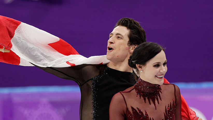 Tessa Virtue And Scott Moir S Storybook Skate For One More Gold Macleans Ca
