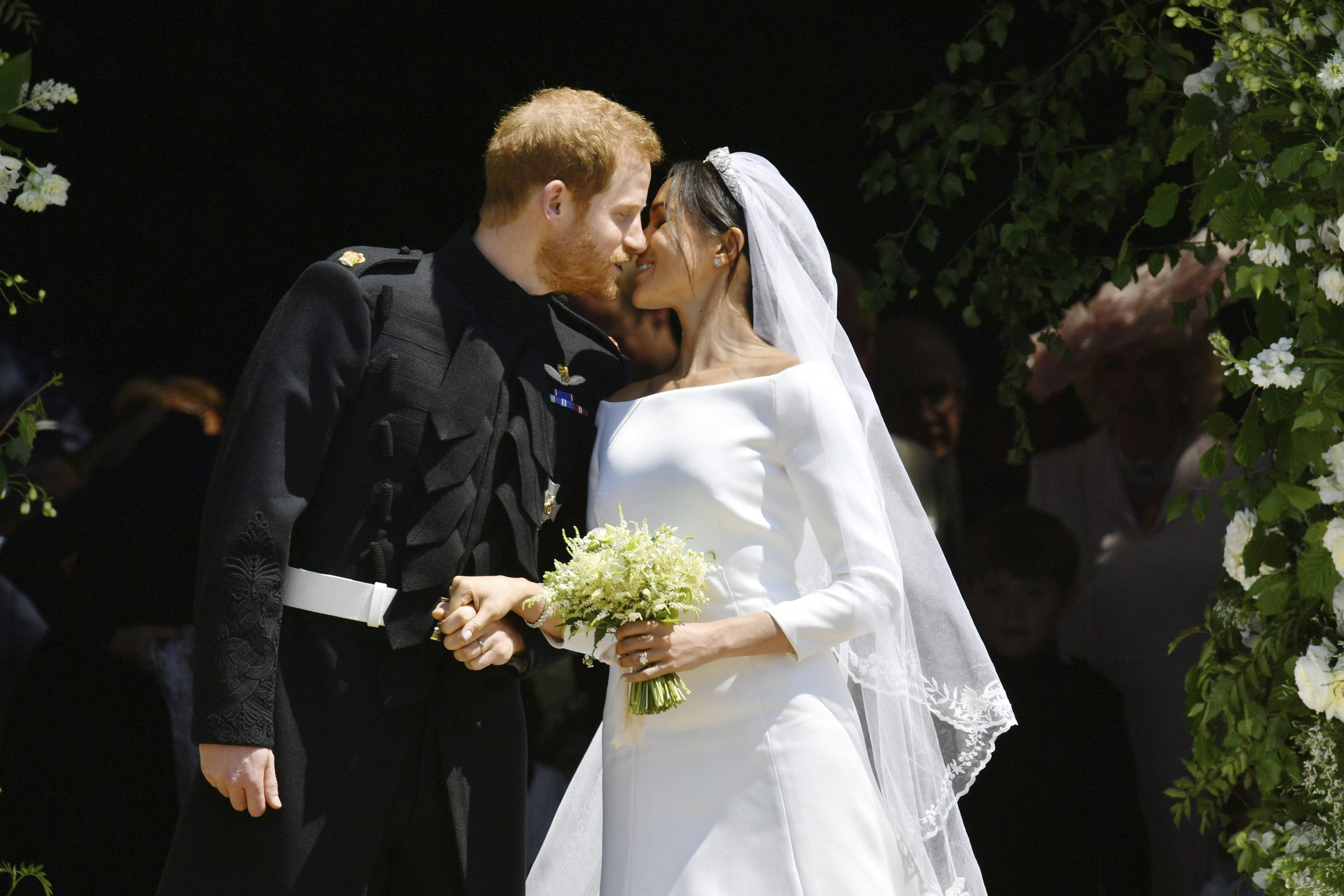 Wedding Of Prince Harry And Meghan Markle.The Extraordinary Wedding Of Prince Harry And Meghan Markle